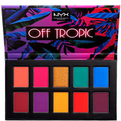 Bild: NYX Professional Make-up Eyeshadow Palette Off Tropic hasta la vista