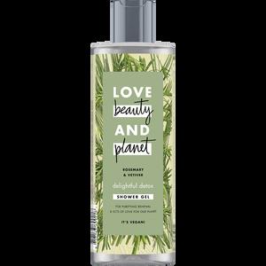 Bild: Love Beauty &  Planet Shower Gel Rosemary & Vetiver
