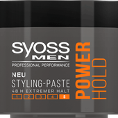 Bild: syoss PROFESSIONAL Men Power Hold Styling-Paste