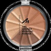 Bild: MANHATTAN 3in1 Shimmer Bronzing Puder gold shimmer