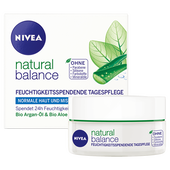Bild: NIVEA natural balance Feuchtigkeitsspendende Tagespflege