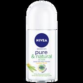 Bild: NIVEA Pure & Natural action Roll-on