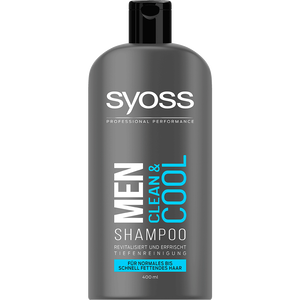 Bild: syoss PROFESSIONAL Shampoo Men Clean & Cool