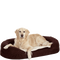Bild: Karlie Flamingo Hundeliegebett Ortho Bed oval braun