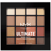 Bild: NYX Professional Make-up Ultimate Multi-Finisch Shadow Palette warm neutral
