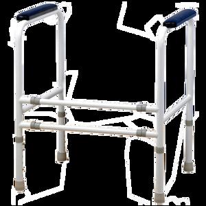 Bild: FRÜHWALD Toilettenstuhl-Stützgestell Stahl