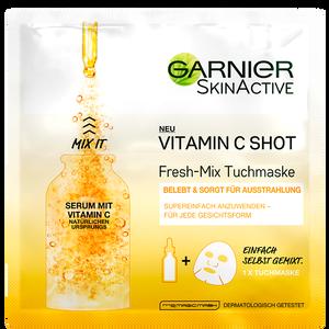 Bild: GARNIER SKIN ACTIVE Vitamin C Shot Fresh-Mix Tuchmaske