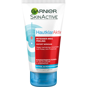 Bild: GARNIER SKIN ACTIVE Hautklar Aktiv Mitesser-weg Peeling