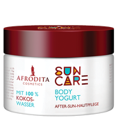 Bild: AFRODITA Cosmetics Suncare Body Yogurt After-Sun-Hautpflege