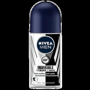 Bild: NIVEA MEN Roll-on Invisible Black&White Power