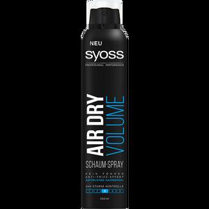 Bild: syoss PROFESSIONAL Schaum-Spray Air Dry Volume