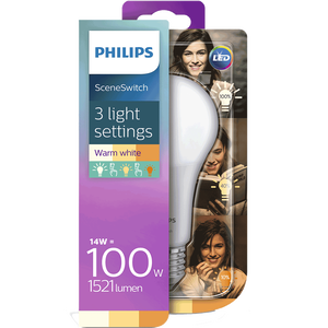 Bild: PHILIPS SceneSwitch LED Lampe 100W