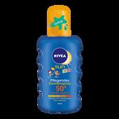 Bild: NIVEA Sun Kids Pflegendes Sonnenspray farbig LSF 50+