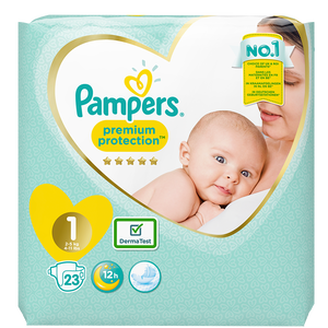 Bild: Pampers Premium Protection Newborn Gr. 1 (2-5kg)