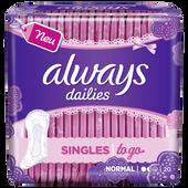 Bild: always Slipeinlage Singles to go