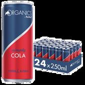 Bild: Red Bull ORGANICS by Red Bull SIMPLY COLA 24er Palette