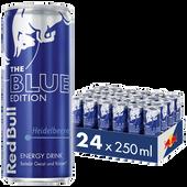 Bild: Red Bull Blue Edition Heidelbeere Energy Drink 24er Palette