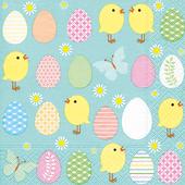 Bild: Paper + Design Servietten Easter all over