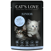 Bild: CAT´S LOVE Junior Kalb Katzenfutter