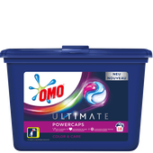 Bild: OMO Ultimate Power Caps Waschmittel Color & Care