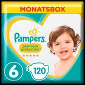 Bild: Pampers Premium Protection Gr.6 Extra Large 13-18kg Monatsbox