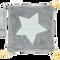 Bild: biobaby Schnullertuch aus Nicki grau