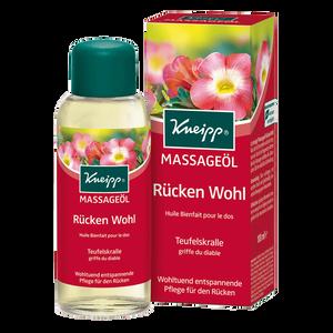 Bild: Kneipp Massageöl Rücken Wohl Teufelskralle