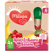 Bild: Milupa Quetschbeutel Apfel Erdbeere Banane