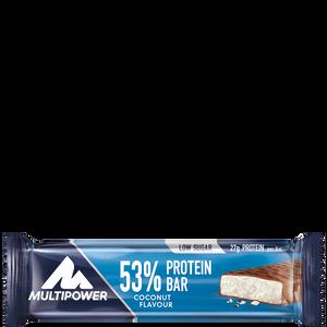 Bild: Multipower 53% Protein Bar Coconut