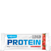 Bild: Max Sport Protein Strawberry Riegel