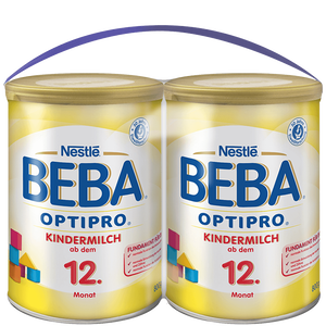 Bild: BEBA OPTIPRO Kindermilch ab dem 12. Monat