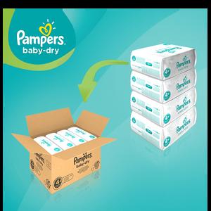 Bild: Pampers Baby Dry Gr.4+ Maxi Plus 10-15kg MonatsBox