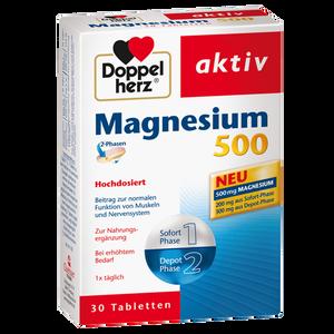doppelherz magnesium 500 tabletten bipa. Black Bedroom Furniture Sets. Home Design Ideas