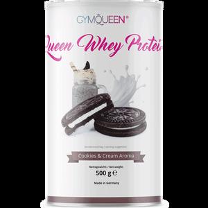 Bild: GYMQUEEN Queen Whey Protein Cookies & Cream Aroma