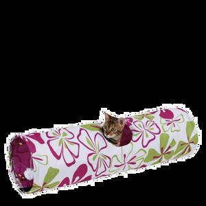 Bild: KERBL Flower Katzen-Spieltunnel