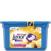 Bild: Lenor 3in1 Pods Colorwaschmittel goldene Orchidee