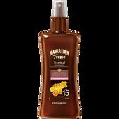 Bild: Hawaiian Tropic Tropical Dry Spray Oil LSF 15