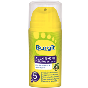Bild: Burgit Footcare All-In-One Fußpflegecreme
