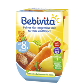 Bild: Bebivita Feines Gartengemüse mit zartem Rindfleisch