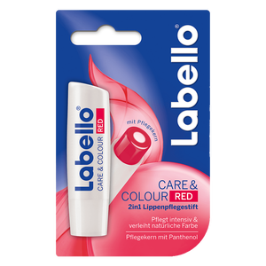 Bild: labello Care & Colour Red
