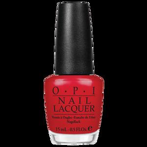 Bild: O.P.I Nail Lacquer color so hot it berns