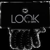 Bild: LOOK BY BIPA Spiral Zopfhalter schwarz