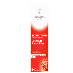 Bild: WELEDA Straffende Augenpflege Granatapfel