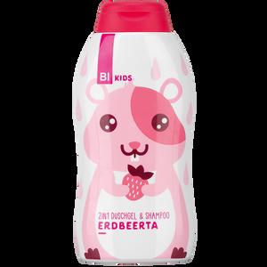 Bild: BI KIDS 2in1 Duschgel & Shampoo Erdbeerta