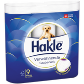 Bild: Hakle Toilettenpapier Verwöhnende Sauberkeit