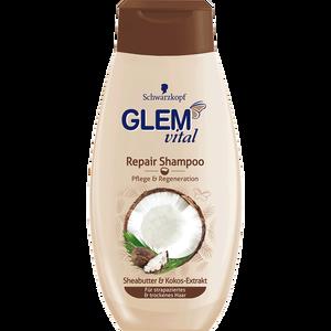 Bild: Schwarzkopf GLEM vital Repair Shampoo Sheabutter & Kokos-Extrakt
