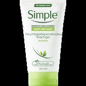 Bild: Simple Sensitive Skin Experts Feuchtigkeitsspendendes Waschgel Seifenfrei
