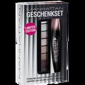 Bild: MANHATTAN Lash Volume Colourist Mascara + Eyemazing Nudes Eyeshadow Palette 200