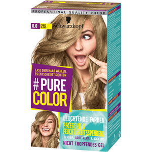 Bild: Schwarzkopf Pure Color Coloration pures blond