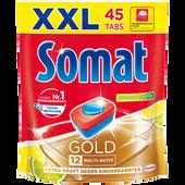 Bild: Somat Gold 12 Multi-Aktiv Lemon & Lime Geschirrspüler Tabs